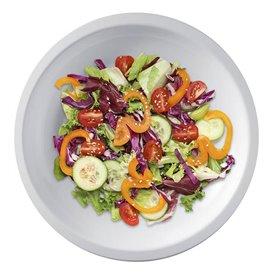 "Plastic Plate Flat White ""Round"" PP Ø22 cm (600 Units)"