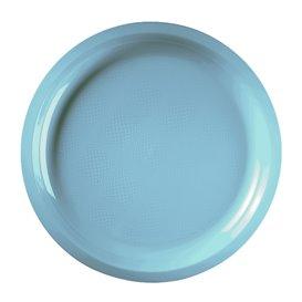 Plastic Plate Turquoise Round shape PP Ø29 cm (300 Units)