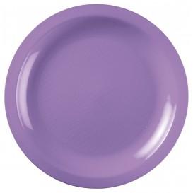 "Plastic Plate Flat Lilac ""Round"" PP Ø18,5 cm (50 Units)"