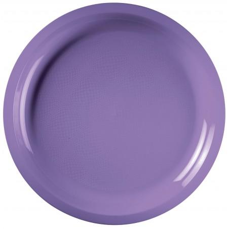 Plato de Plastico Lila Round PP Ø290mm (150 Uds)