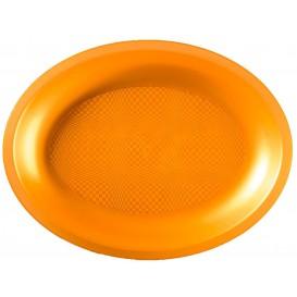 Bandeja Ovalada Oro Round PP 315x220mm (120 Uds)