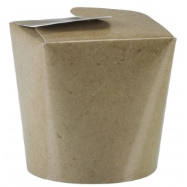 Paper Take-out Container Kraft 800ml (50 Units)