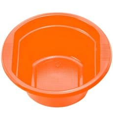 Bol de Plastico PS Naranja 250ml Ø12cm (30 Uds)