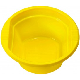 Bol de Plastico PS Amarillo 250ml Ø12cm (660 Uds)