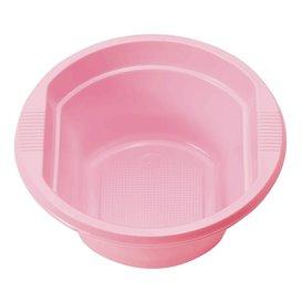Plastic Bowl PS Pink 250ml Ø12cm (30 Units)