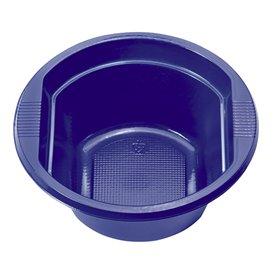 Plastic Bowl PS Dark Blue 250 ml Ø12cm (660 Units)