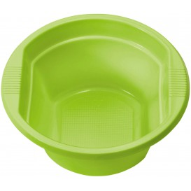 Plastic Bowl PS Lime Green 250ml Ø12cm (30 Units)