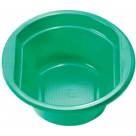 Plastic Bowl PS Green 250ml Ø12cm (30 Units)