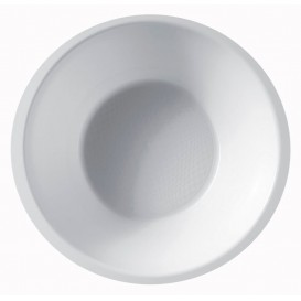 Plastic Bowl PP White 450ml Ø15,5cm (600 Units)