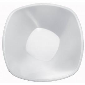 "Plastic Bowl PP White ""Square"" 3000ml Ø27,7cm (3 Units)"