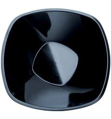 "Plastic Bowl PP Black ""Square"" 3000ml Ø27,7cm (30 Units)"