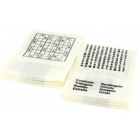"Paper Napkin Miniservis ""Hobbie"" 17x17cm (200 Units)"