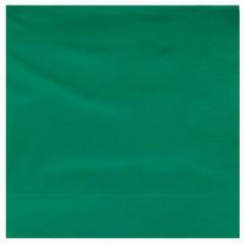 Paper Napkin Edging Green 25x25cm 2C (200 Units)