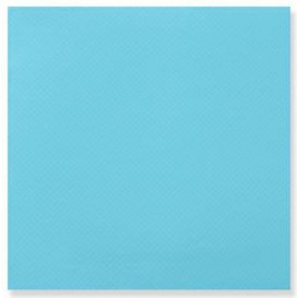 Paper Napkin Double Point Turquoise 2C 33x33cm (50 Units)