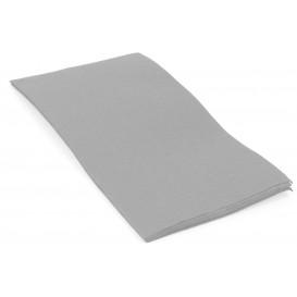 Paper Napkin Double Point 1/8 Grey 40x40cm (50 Units)