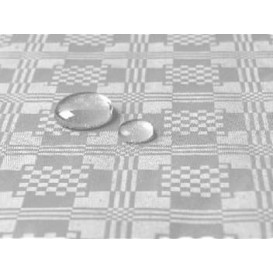 Tablecloth Roll Waterproof Silver 1,2x5m (10 Units)