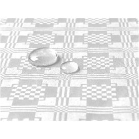 Tablecloth Roll Waterproof White 1,2x5m (10 Units)