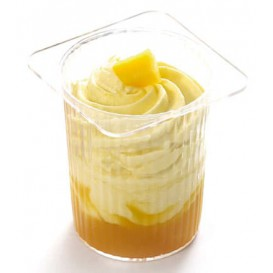 "Plastic Serving Yogurt Cup ""P'ti suisse"" PS Clear 60ml (20 Units)"