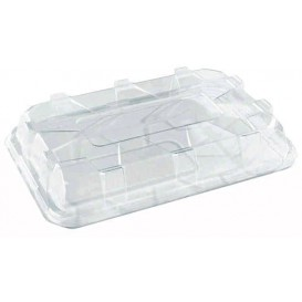 Plastic Lid for Tray Clear 35x24cm (50 Units)