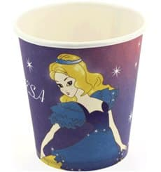 Vaso Carton Design Princesas 200ml (25 Units)