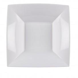 Plato de Plastico Hondo Blanco Nice PP 180mm (25 Uds)