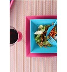 "Plastic Plate Flat Fuchsia ""Nice"" PP 29 cm (144 Units)"