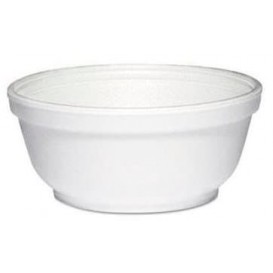 Foam Container White 8Oz/240 ml Ø11cm (1000 Units)
