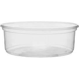 Plastic Deli Container Clear PP 150ml Ø10,5cm (1000 Units)