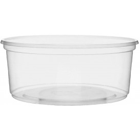 Plastic Deli Container Clear PP 200ml Ø10,5cm (100 Units)