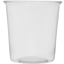 Plastic Deli Container Clear PP 500ml Ø10,5cm (100 Units)