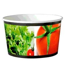 Paper Salad Bowl Large size 1030ml (34 Units)