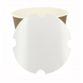 Paper Lid for Chicken Bucket 2550ml (100 Units)