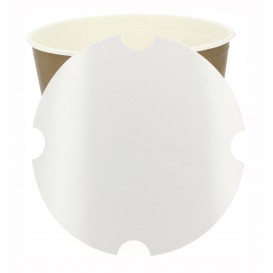 Paper Lid for Chicken Bucket 3990ml (300 Units)