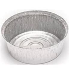 Foil Pan for Roast Chicken Round Shape 1400ml (125 Units)