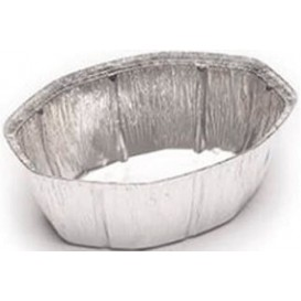 Foil Pan for Roast Chicken Oval Shape 2400ml (125 Units)