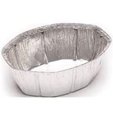 Foil Pan for Roast Chicken Oval Shape 2400ml (125 Units)