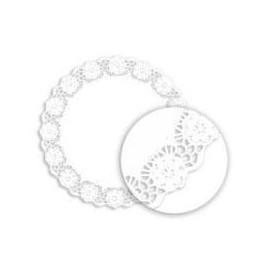 """Paper Lace Doilie """"Litos"""" White Ø16cm (250 Units)"""