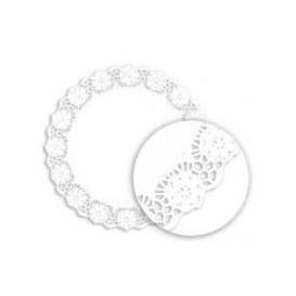 """Paper Lace Doilie """"Litos"""" White Ø36cm (250 Units)"""