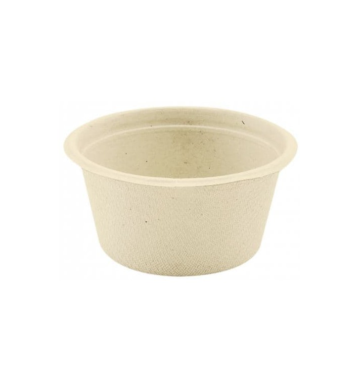Sugarcane Container Natural 55ml (1000 Units)