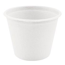 Sugarcane Container White Ø9,5cm 425ml (50 Units)