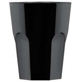 Plastic Shot SAN Reusable Black 40ml (72 Units)