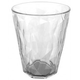 "Plastic Glass SAN Reusable ""Rox Ice"" Clear 340 ml (120 Units)"