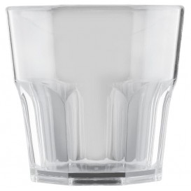 "Plastic Glass SAN Reusable ""Mini Drink"" Clear 160ml (8 Units)"