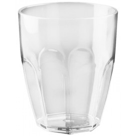 "Plastic Glass SAN Reusable ""Summer"" Clear 355ml (6 Units)"