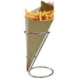 Serving Basket Containers Steel Ø11,5x18cm (36 Units)