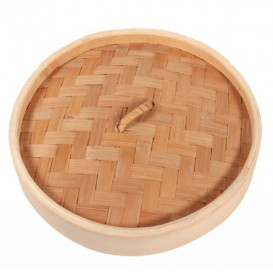"""Bamboo Lid for Steamer """"Maxi"""" Ø20cm (32 Units)"""