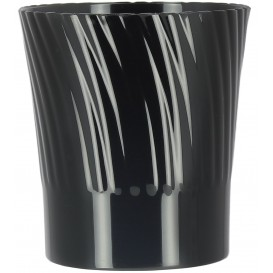 Plastic Tasting Cup Black 165ml (432 Units)