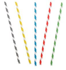 Paper Straw Flexible Pack Ø0,6cm 23cm (6000 Units)