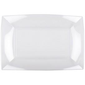 "Plastic dienblad transparant ""Nice"" 34,5x23 cm (6 eenheden)"