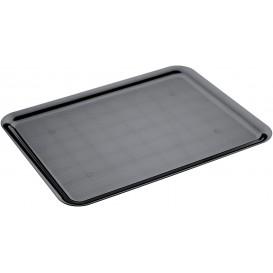 Plastic Tray Black 37x50cm (24 Units)